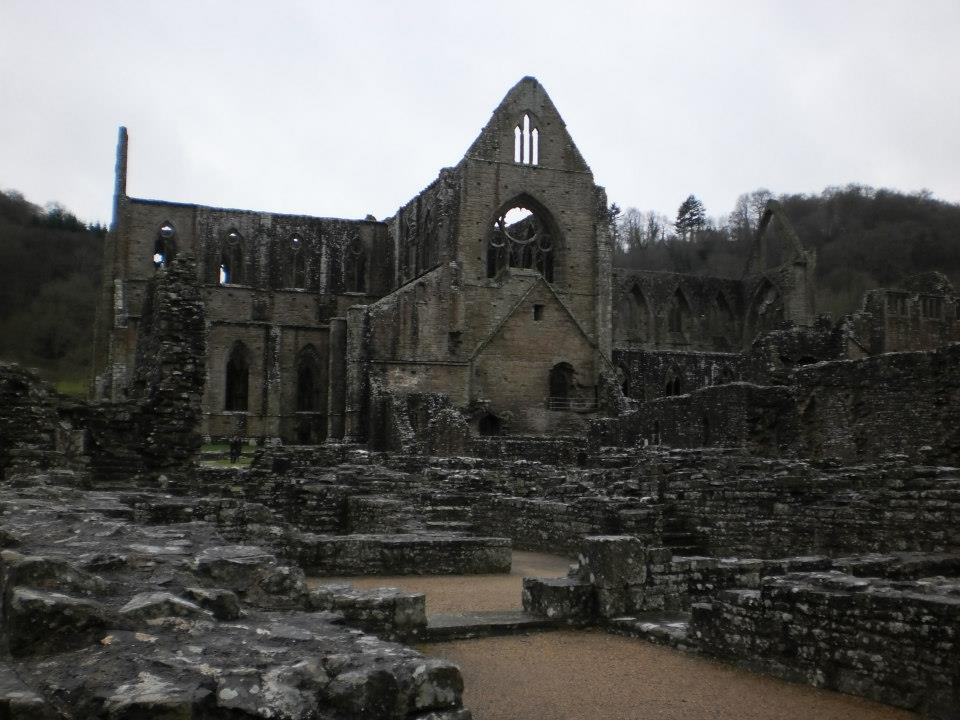 The abbey from the side