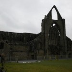 The abbey from the front