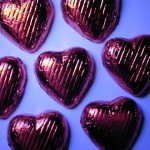 Valentine heart chocolates, via freeimages.co.uk