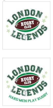 London Legends Logo IDEA 1
