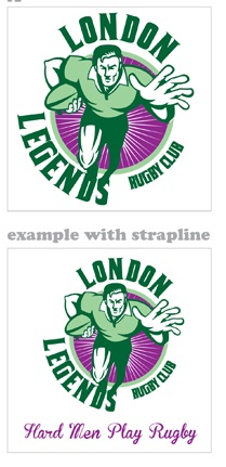 London Legends Logo IDEA 3