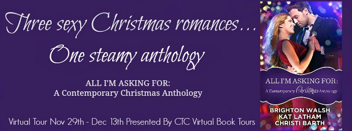 All I'm Asking For: A Contemporary Christmas Anthology blog tour