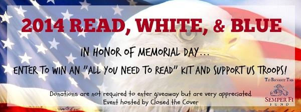 Read, White, & Blue banner