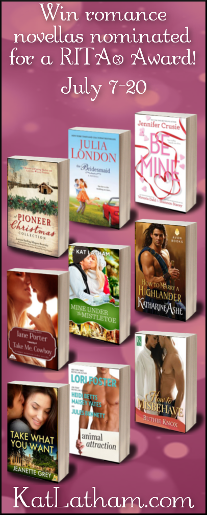 RITA romance novella giveaway