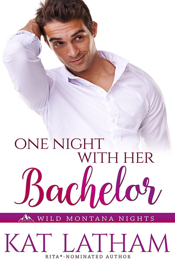 One Night With Her Bachelor - Book Cover