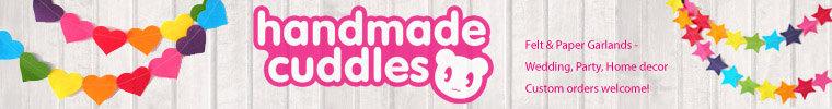 Handmade Cuddles Etsy shop