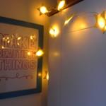 Handmade Cuddles star lights